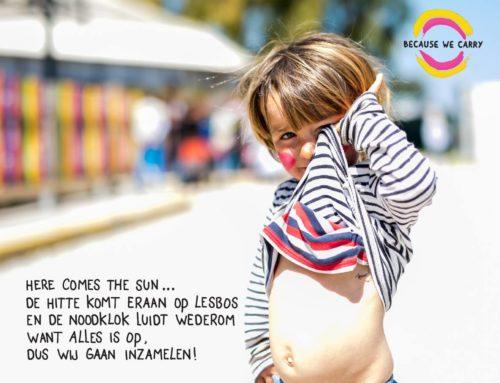 Amsternannies voor Lesbos. Help ons inzamelen voor het goede doel!