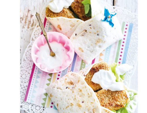 Wraps met vissticks